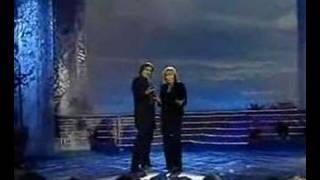 Vladimir Hron with Hana Zagorova - impersonating Drupi