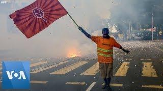Firecrackers In Celebration Of Rajapaksa's Sri Lanka Election Win