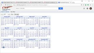 Google Calendar - 4 features to turn on: Hide times - Year view - Jump to by Chris Menard