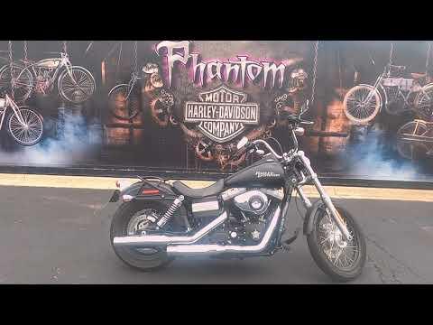 2011 Harley-Davidson Dyna Street Bob FXDB