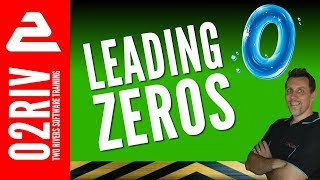 How To Display Leading Zeros In Excel (Hint: No Text!)