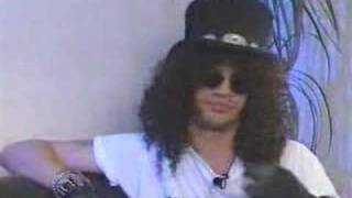slash backstage interview(freddie mercury tribute)