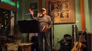 Frank Hotchkiss - California beach boy! One of His Poems!! At BOGART'S Coffee shop!