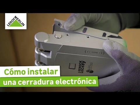 Cómo instalar una cerradura electrónica (Leroy Merlin)