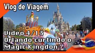 Mudança para os EUA 4/13 - Orlando, Disney - Magic Kingdom