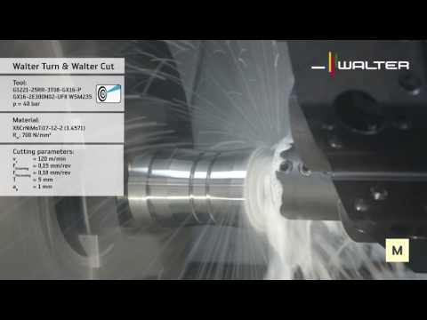 G1221 Walter Cut grooving boring bar