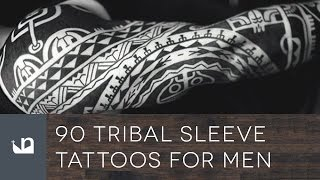 90 Tribal Sleeve Tattoos For Men