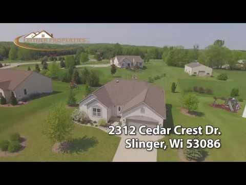 2312 Cedar Crest Dr Slinger, Wi 53086