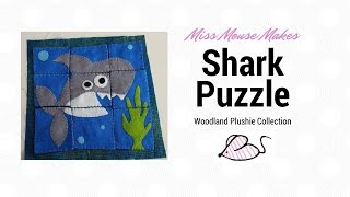How To Make A Shark Felt Puzzle (quiet Book Page)