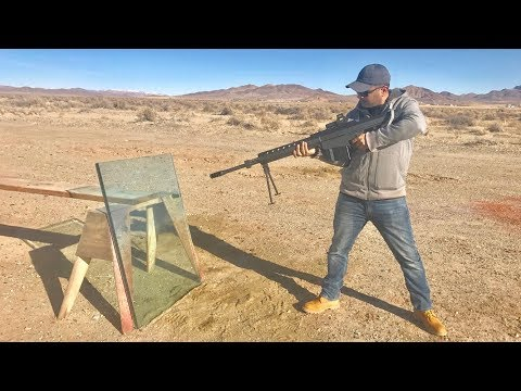 50CAL VS BULLETPROOF GLASS