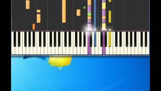 Chris Rea   Daytona [Piano tutorial by Synthesia]