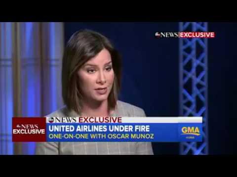 United Airlines CEO Oscar Munoz  INTERVIEW