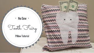 No-Sew Tooth Fairy Pillow Tutorial