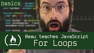 Download Youtube: For Loops - Beau teaches JavaScript