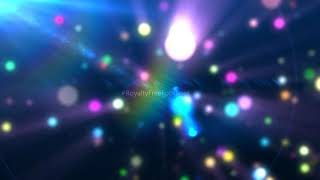 abstract bokeh particles overlay | Sparkling bokeh particles | blue bokeh HD | Royalty Free Footages