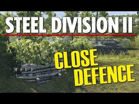CLOSE DEFENCE! Steel Division 2 BETA Gameplay (Tsel, 2v2)