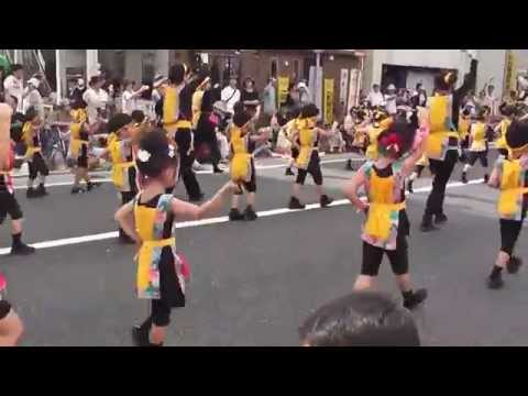 2014よさこい祭り みかづき第二幼稚園
