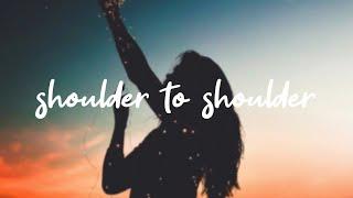 Tate McRae   Shoulder To Shoulder [Lyrics]