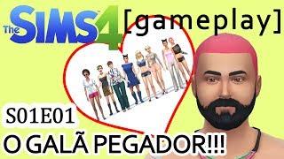 The Sims 4 - S01E01 - Criando o nosso pegador [Gameplay]