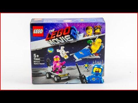Vidéo LEGO The LEGO Movie 70841 : L'équipe spatiale de Benny