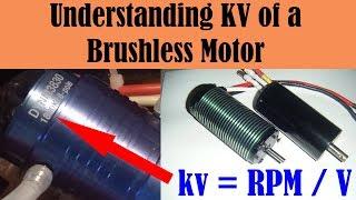 Understanding KV of a Brushless Motor - RC Motor Basics