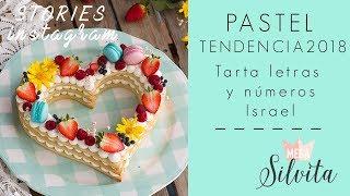 Pastel en Tendencia 2018 de Números y Letras - Receta Stories Megasilvita