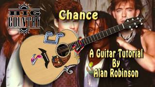 Chance - Big Country - Acoustic Guitar Lesson