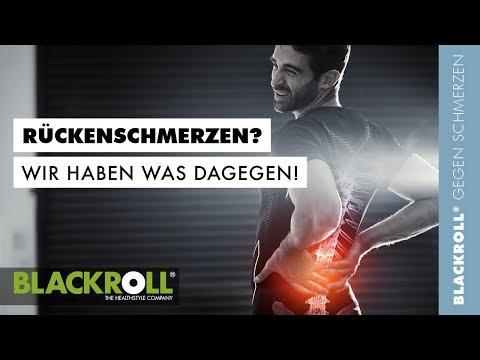 Übungen für den Rücken mit den Faszienbällen von BLACKROLL®