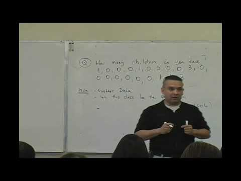 Daniel Judge- Statistics Lecture 1 (part 1)