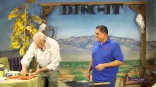 Bob Gerding makes Elk Steaks Diane on the DISC-IT! 06 Ep01