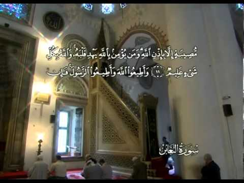 Сура Взаимное обделение <br>(ат-Тагабун) - шейх / Абдуль-Басит Абдус-Сомад -