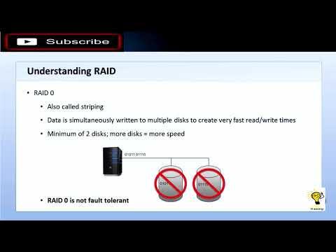 Windows Server (MTA Exam 98-365) - 9 Data Storage - YouTube