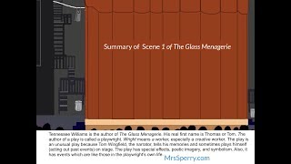 The Glass Menagerie - Summary of Scene 1