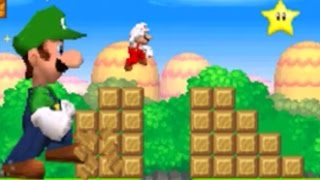 New Super Mario Bros. DS - Mario Vs. Luigi Mode #2 (All Courses)