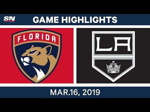 NHL Highlights | Panthers vs Kings – Mar 16, 2019