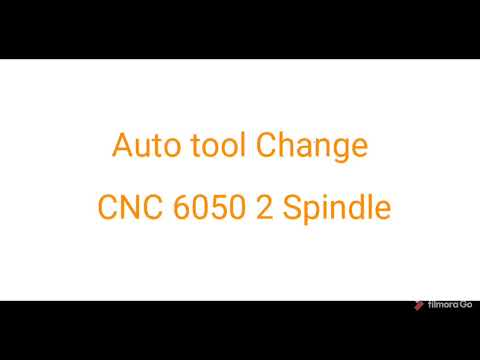 CNC 6050 Double Spindle PCB Drilling ATC (Autom Tool Change)