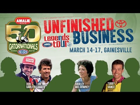 Unfinished Business - Shirley Muldowney