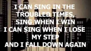 How Can I Keep from Singing - Chris Tomlin w/ lyrics