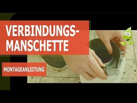 Manschetten Montageanleitung - Verbindungs-Manschette