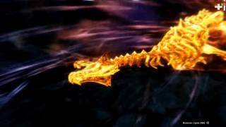 SKYRIM битва: - Лучник VS Древний дракон -