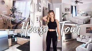HOUSE TOUR 2018   Our First Home   Coastal Farmhouse Decor Style