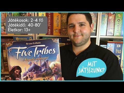 Five Tribes Játékbemutató - Mit Játsszunk?