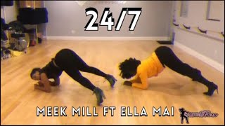 247  Meek Mill Ft Ella Mai| STILETTO BURN CHOREOGRAPHY