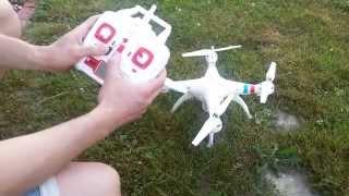 Syma x8c , Dron Quadcopter,  Pierwszy lot + uruchamianie  Poland