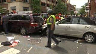 Car plows into Va. protesters
