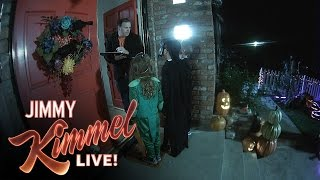 Cousin Sal Tricks Trick or Treaters 2016