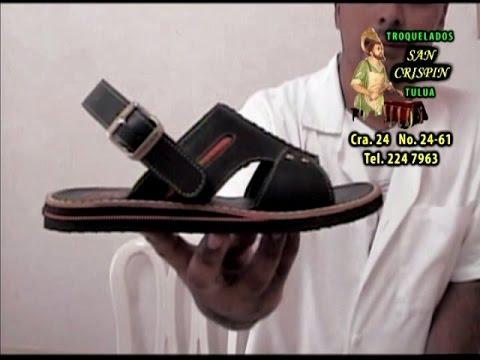 2 Sandalia Plana para Hombre - Fabricar Calzado