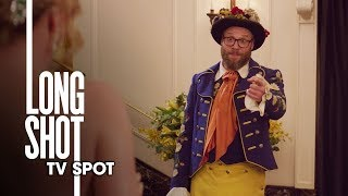 "Long Shot (2019 Movie) Official TV Spot ""Date Chemistry"" – Seth Rogen, Charlize Theron"