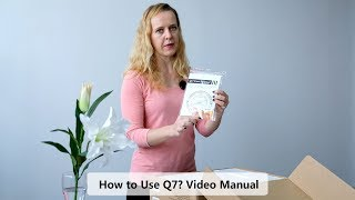 Clymen Q7 - How to use? Video Manual