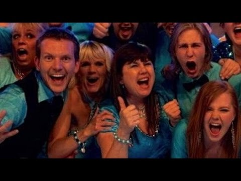 """Dan H. performs """"Freedom"""" at the televised talent show """"Clash Of The Choirs."""""""